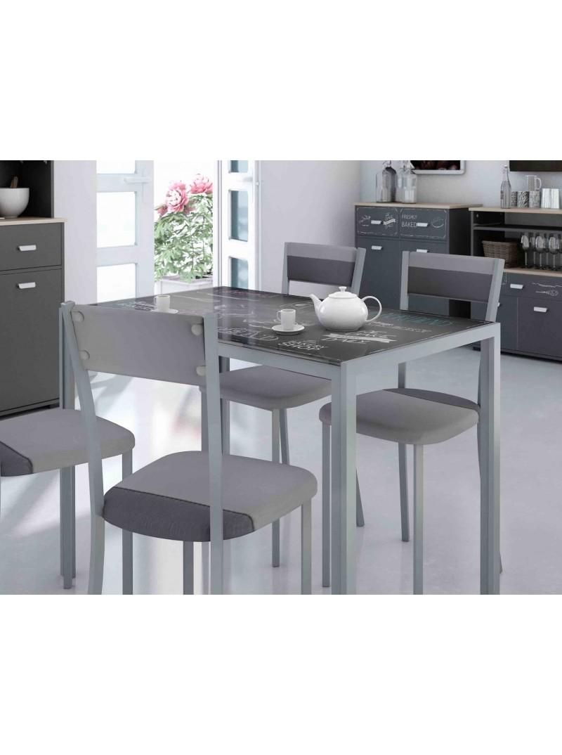 Mesa cocina fija