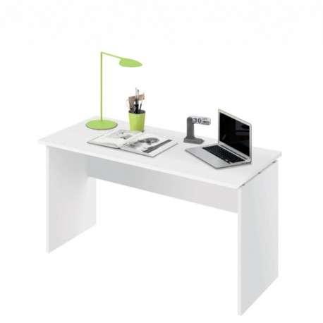 Mesa despacho blanco brillo