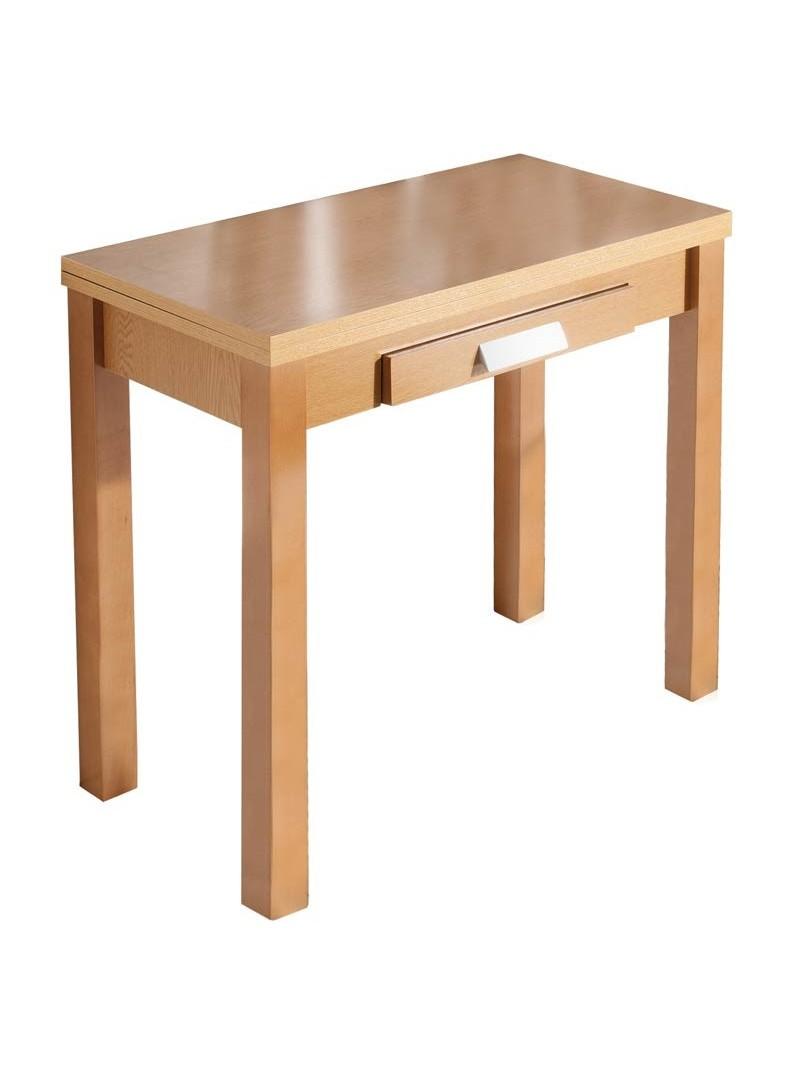Mesa cocina color roble libro Prilsa