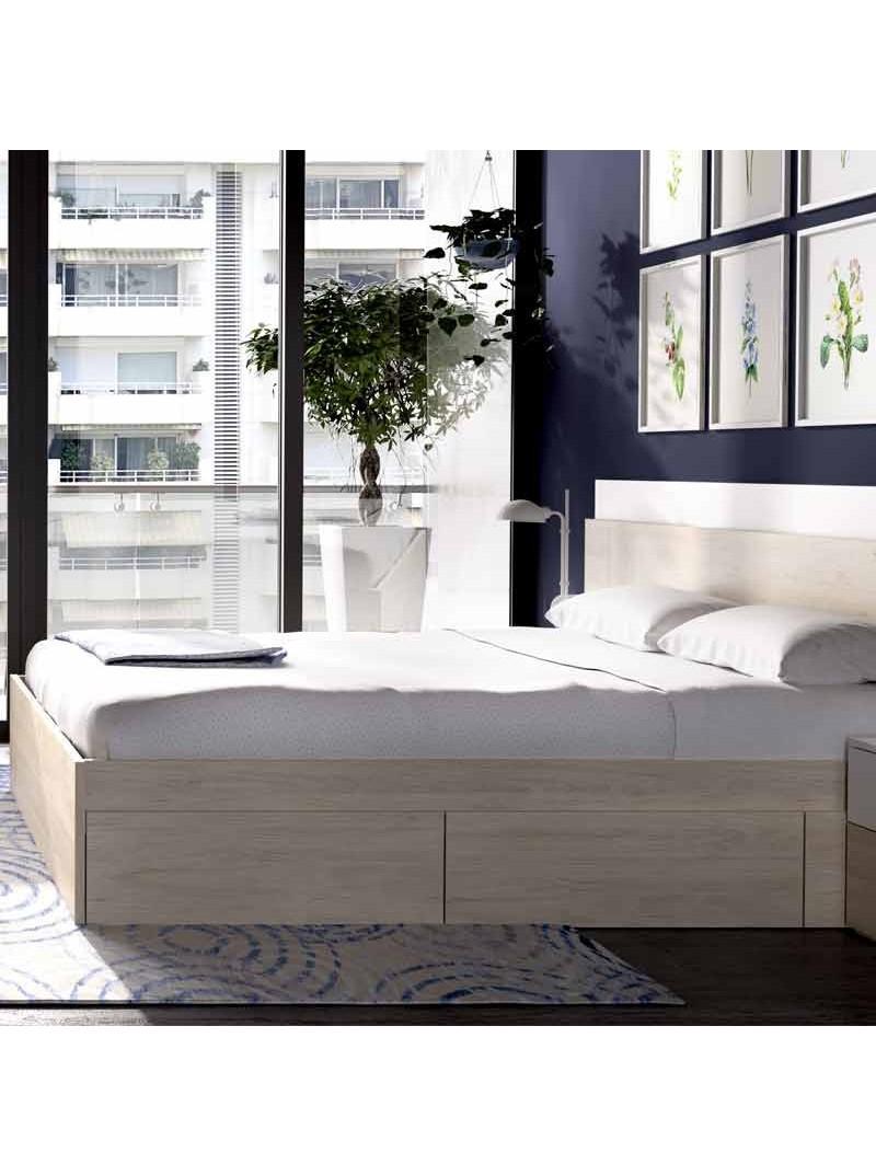 Pack dormitorio moderno Kina