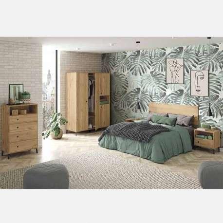 Pack dormitorio nórdico con patas