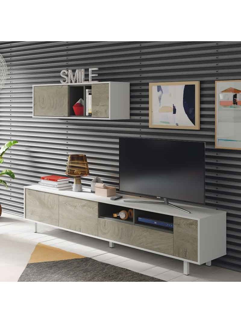 Mueble TV modular para salón Alaska