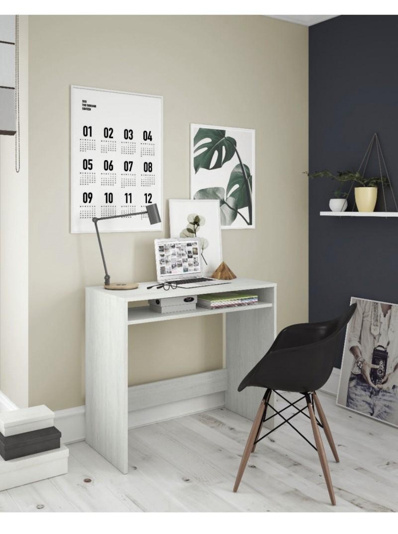 Mesa escritorio con badeja