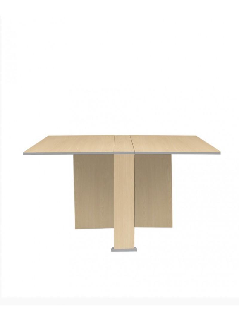 Mesa plegable con alas