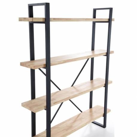 Estanteria Plank 4 roble industrial
