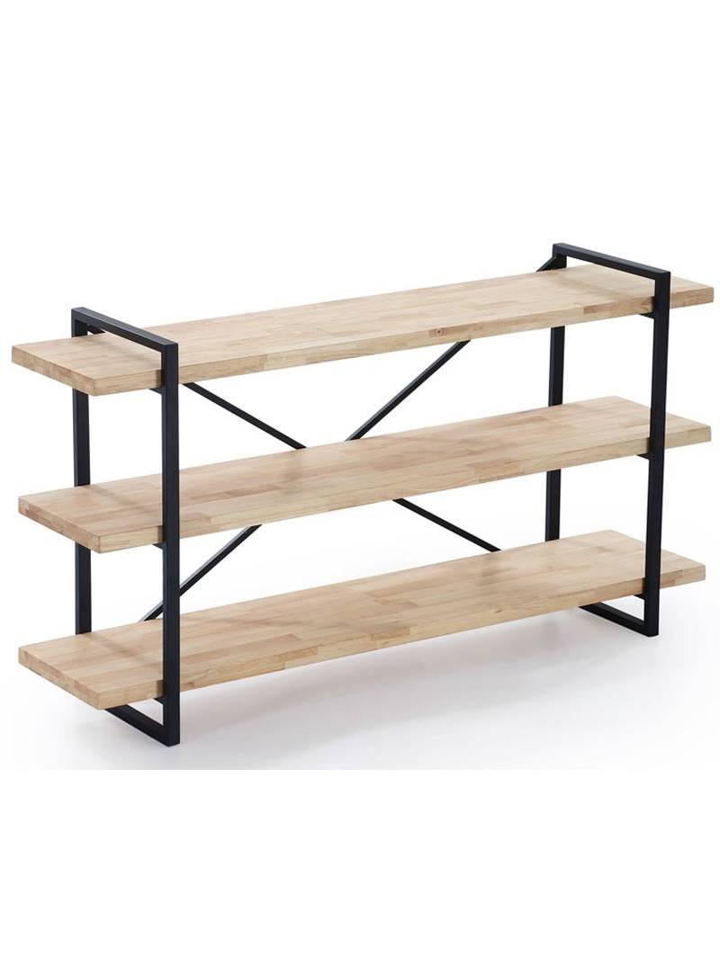 Estanteria Plank 3 roble industrial