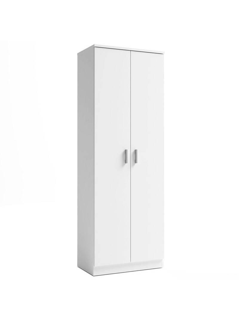 Armario zapatero auxiliar blanco 2 puertas