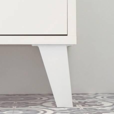 Columna auxiliar baño Sintra color blanco