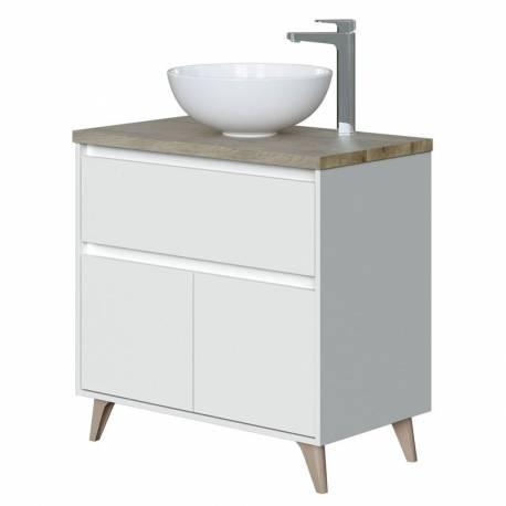 Mueble de baño 1 cajon 2 puertas