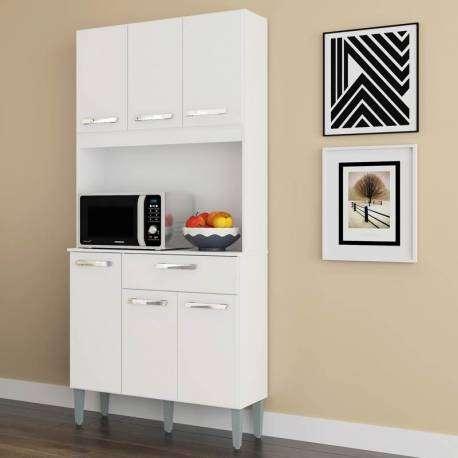 Mueble cocina Lusaka alacena 6 puertas 1 cajón