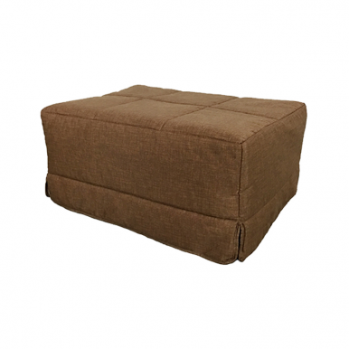 Pouf cama chocolate