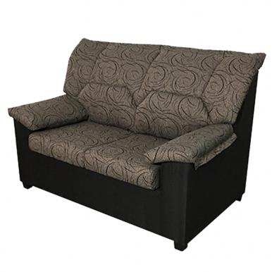 Sofa Maxi 2 plazas marrón.