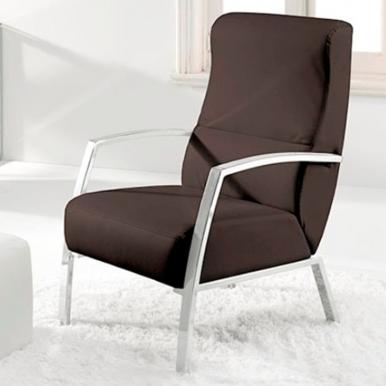 Butaca sillón chocolate