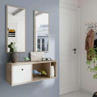 Mueble recibidor 2 espejos...
