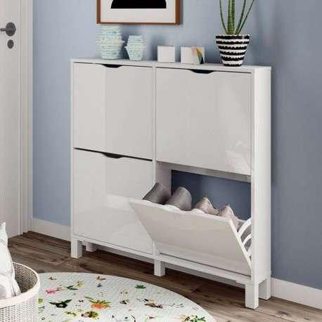 Mueble zapatero estrecho Mary 97x98 cm