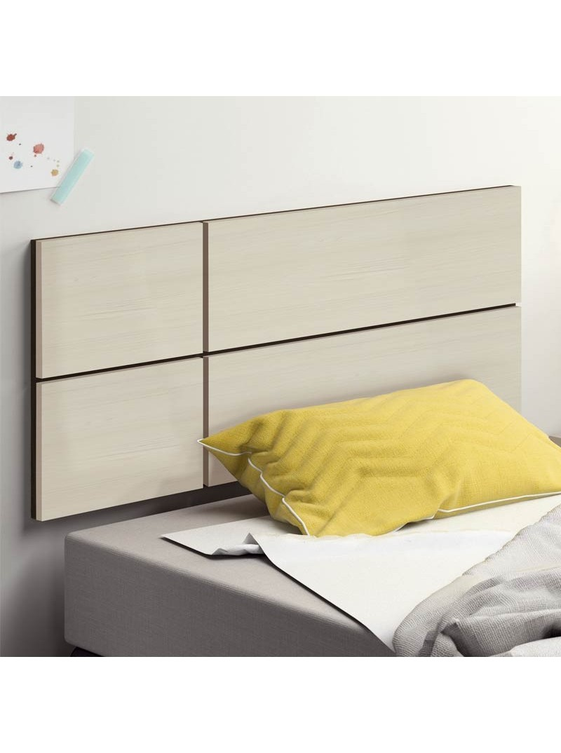 Cabezal dormitorio Maka color pino