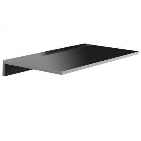 Mesa cocina de pared Vera color negro 842143