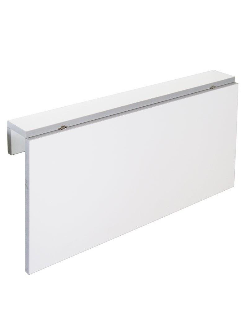 Mesa cocina plegable Vera de pared blanca