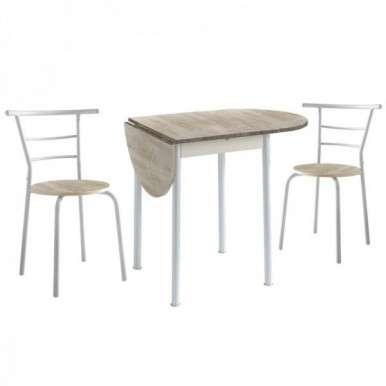 Conjunto mesa y 2 sillas...